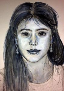 Girls Portrait b7w