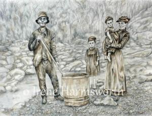 Ballarat Gold Rush Family