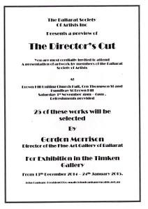 Notice of Exhibition