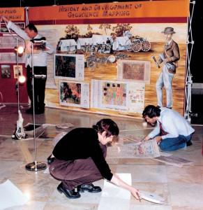 Preparing for Exhibition