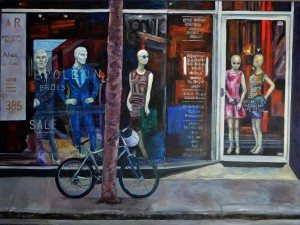 Fashion 1_Irene Harmsworth_Oil Painting_75cmx100cm