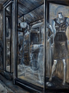 Fashion 2_Irene Harmsworth Acrylic Painting_76cmx102cm